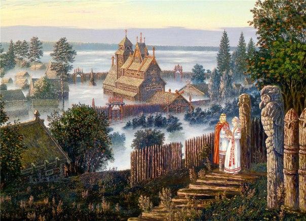 Ведические храмы Славян