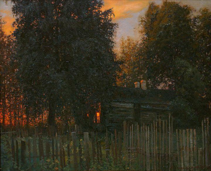 А.В. Стекольщиков - Отблески заката, 1996.jpg