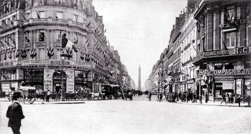 Paris Rue de la Paix.