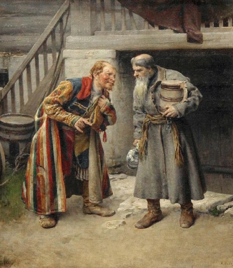 Приятели, 1895, Национальный музей Беларуси, Минск.jpg