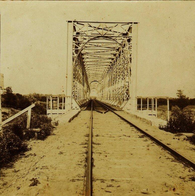 Железнодорожный мост через Упу