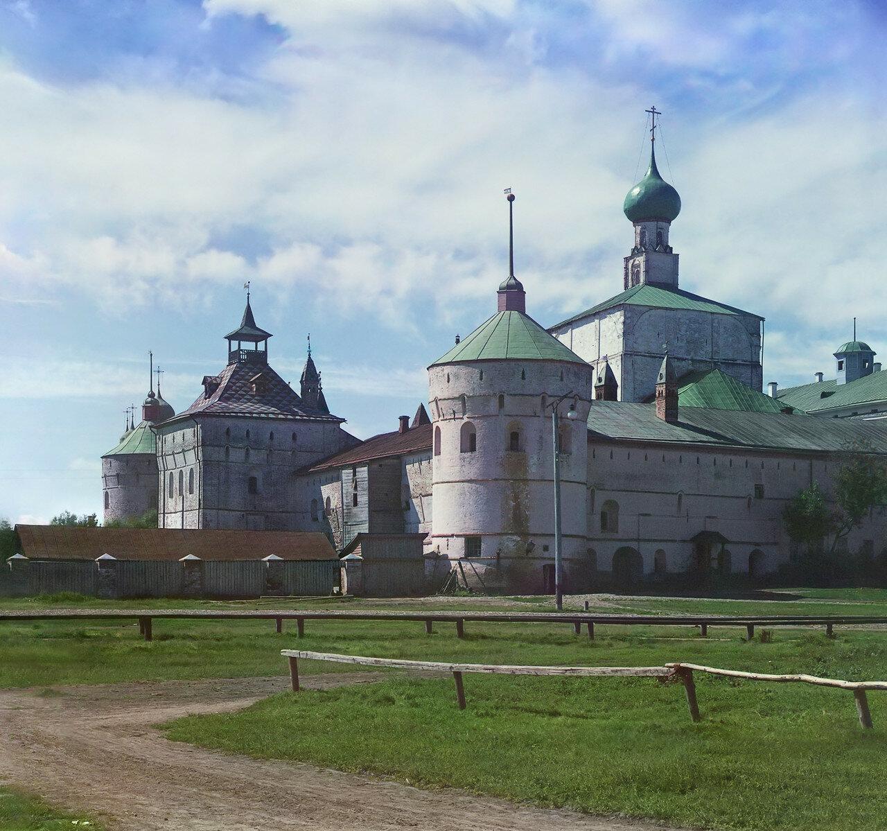 Кремль с северо-востока