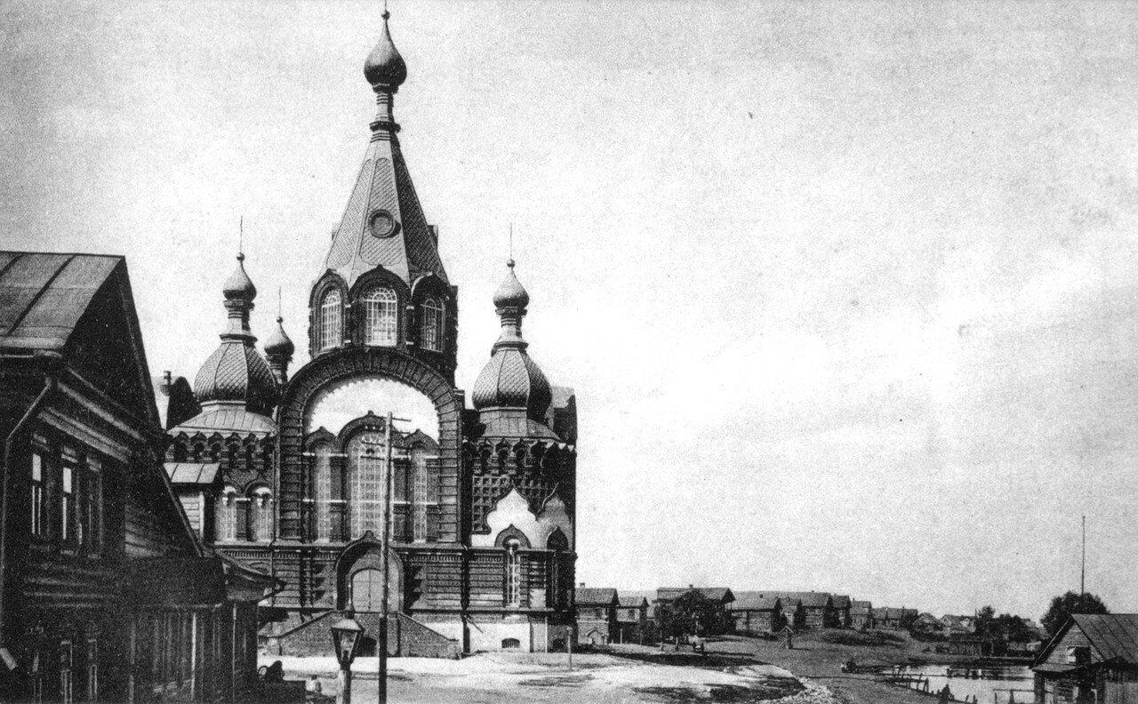 Село Гордеевка. Владимирский собор (рядом со Смоленской церковью)