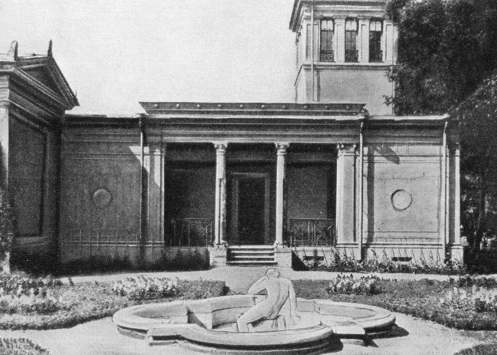 Фонтан «Нарцисс» в собственном садике Царицына павильона