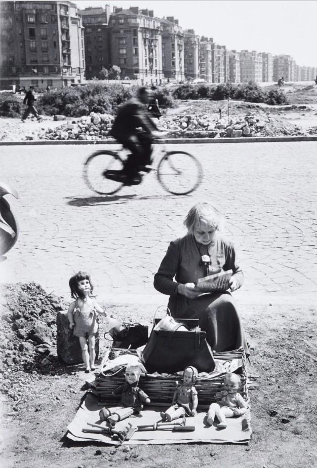 1947. Блошиный рынок. Порт-де-Ванв. Париж