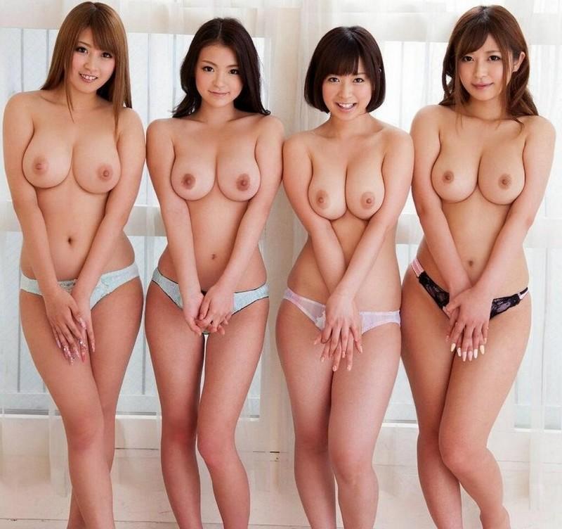 Азиатки с большой грудью