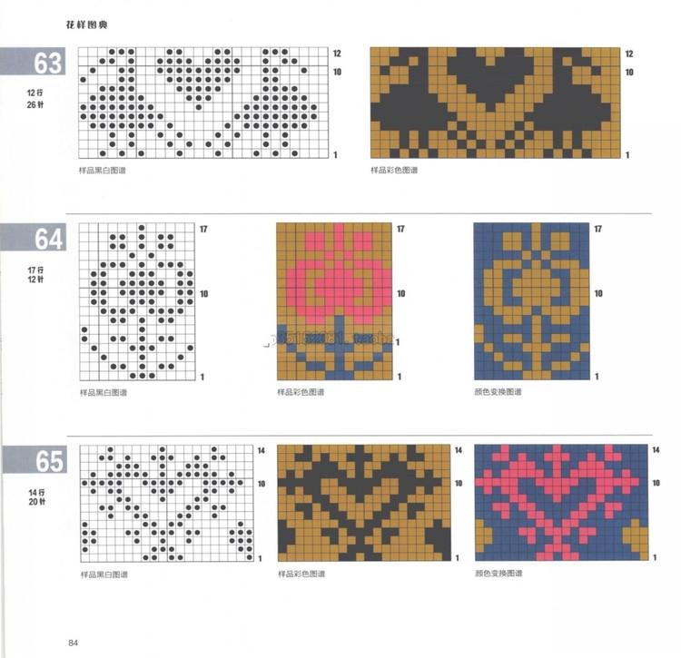 斯堪的纳维亚编织花样图典 - 编织幸福 - 编织幸福的博客
