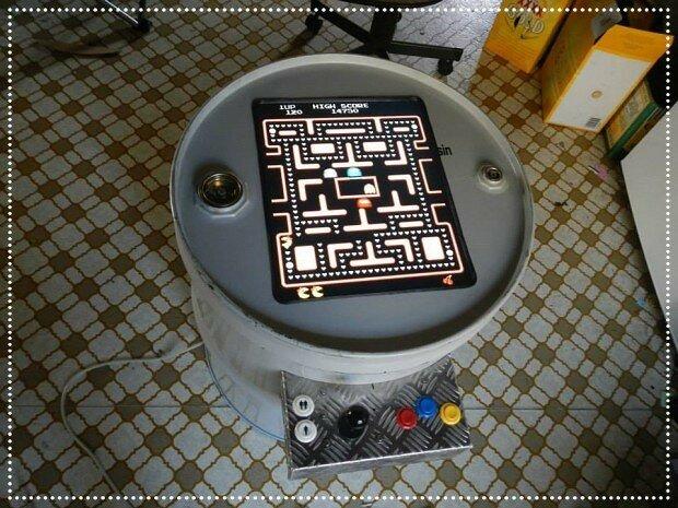 Игровой автомат из канистры! Шедевр домашнего моддинга