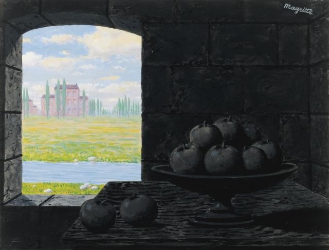 Рене Магритт. Уроки тьмы. 1956
