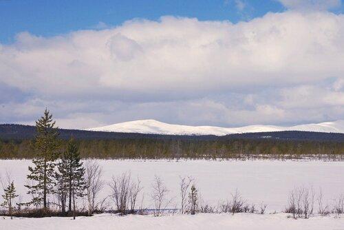 -снежные вершины