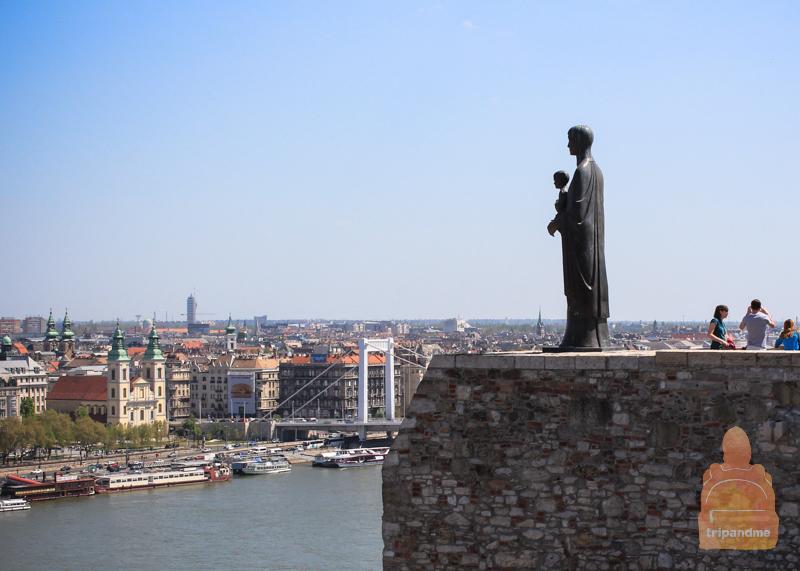 Вид из Королевского дворца Будапешта