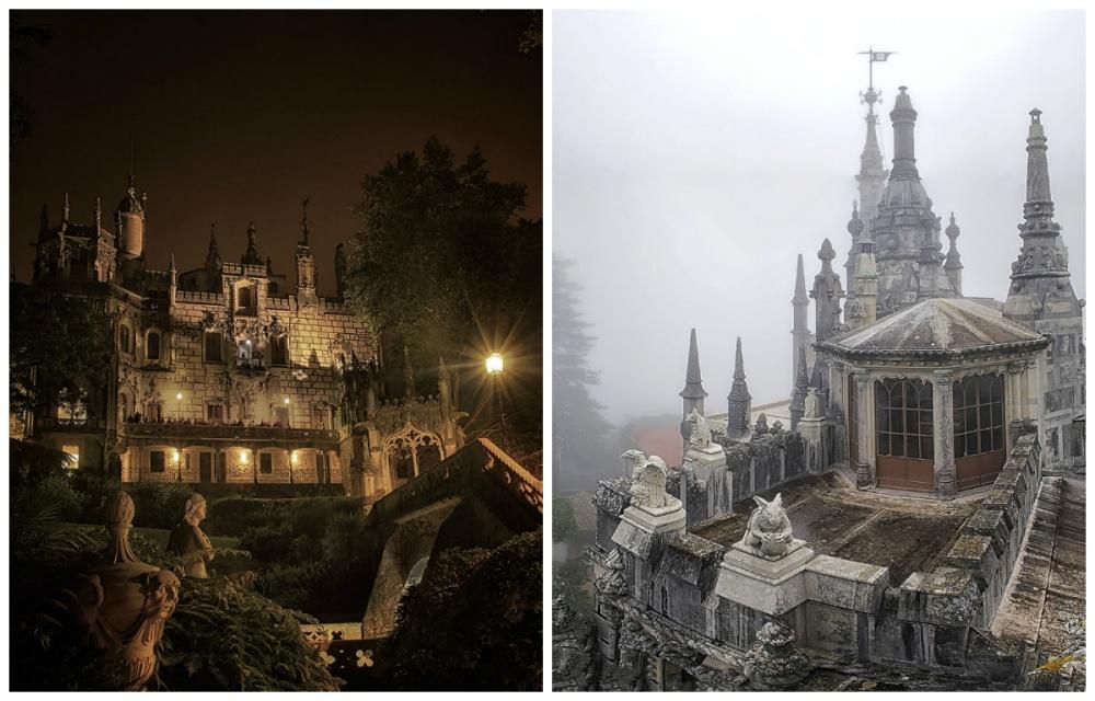 © boredpanda  Колодец— главная загадка одного изсамых романтических замков Португалии. Спира