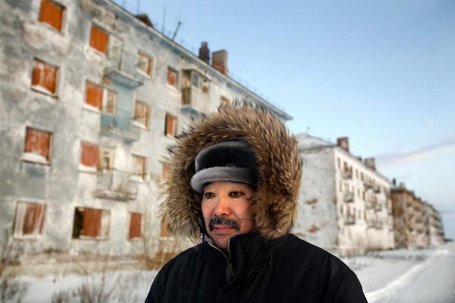 14. Сегодня в поселке Юршор неподалеку от Воркуты осталось не более десяти жителей, среди которых и