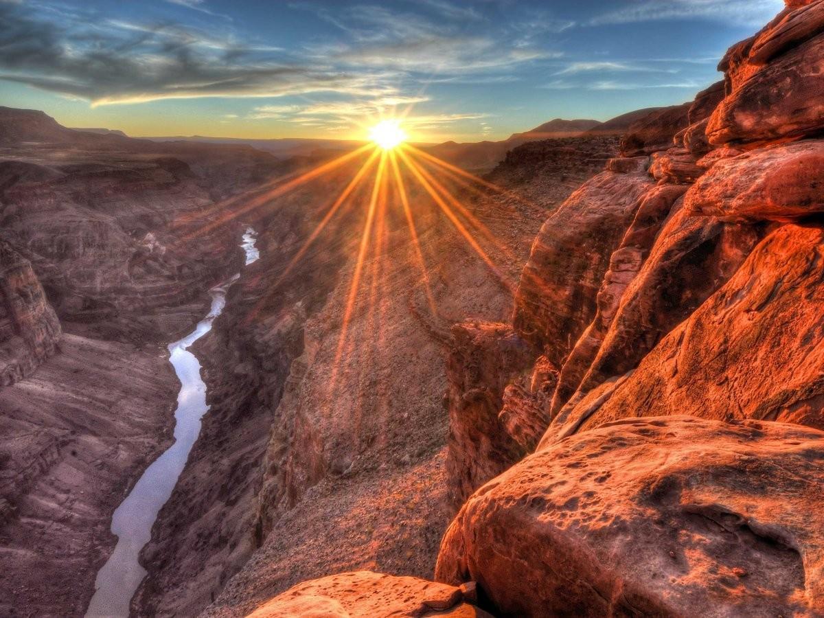 5. Посетите Гранд-Каньон в Аризоне, США.