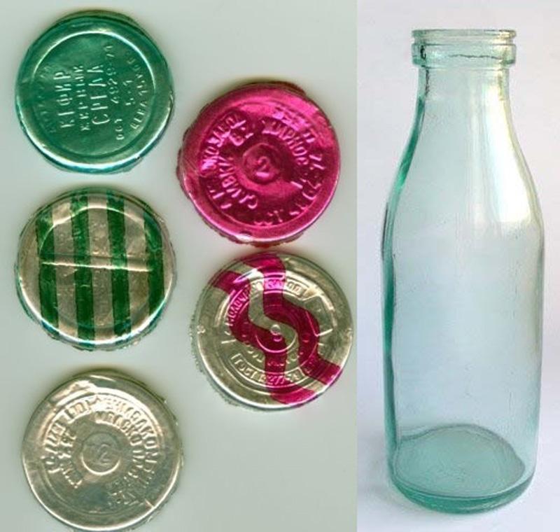 1. Упаковка для кефира. Экономичный и экологичный дизайн.
