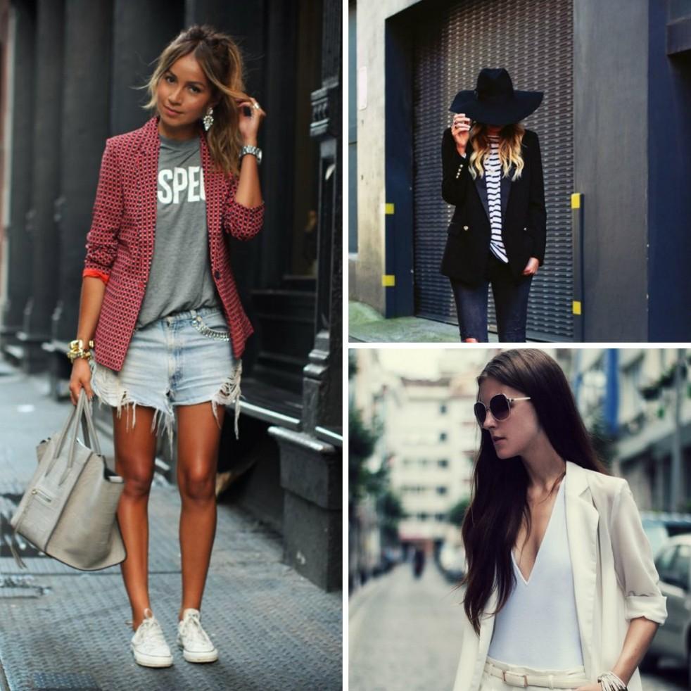 6. Жакет «Первое, что я должен подумать о женщине в мужском пиджаке: