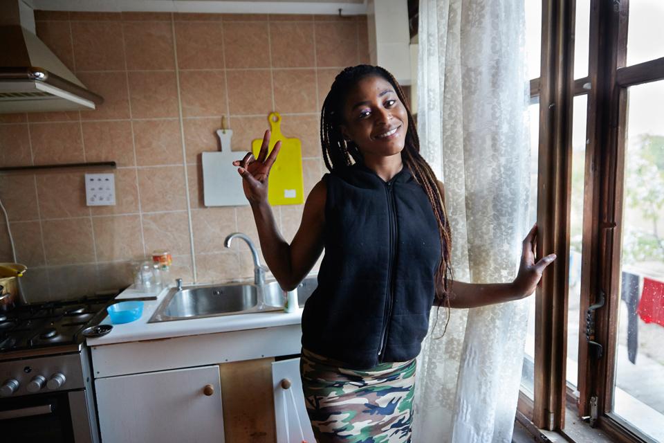 11. Прэшес, 22. В России прожила два года. «Я училась в Нигерии, но в один момент мне пришлось все б