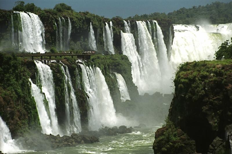 самые красивые водопады: Игуасу