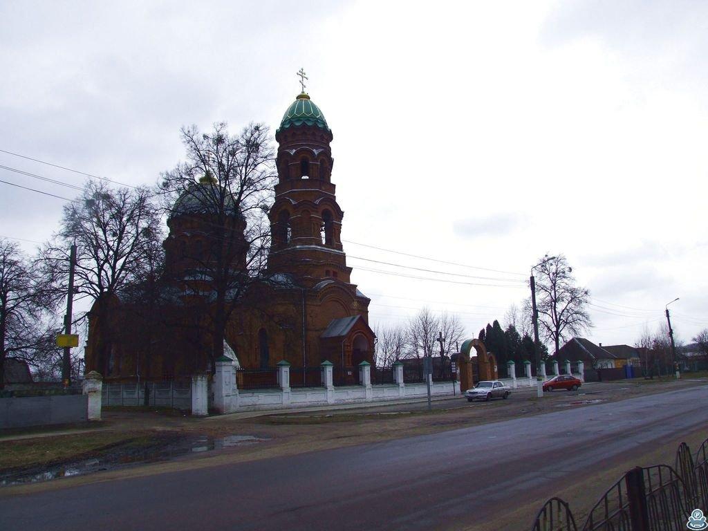 Вознесенская церковь в Тростянце