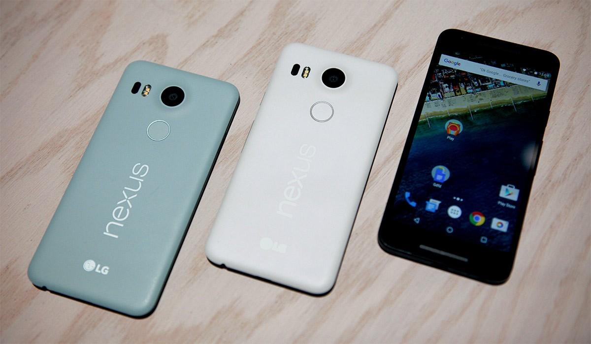 В Российской Федерации резко упали вцене мобильные телефоны Nexus 5X и6P