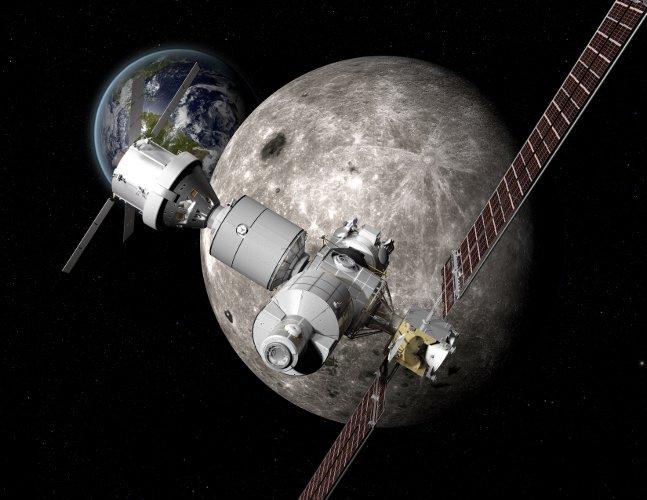 Создан проект станции для полетов наМарс иЛуну