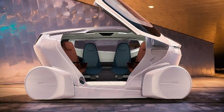 Навыставке вШанхае представлен беспилотный автомобиль будущего