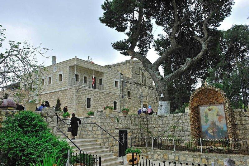 Православный греческий монастырь Преображения на горе Фавор