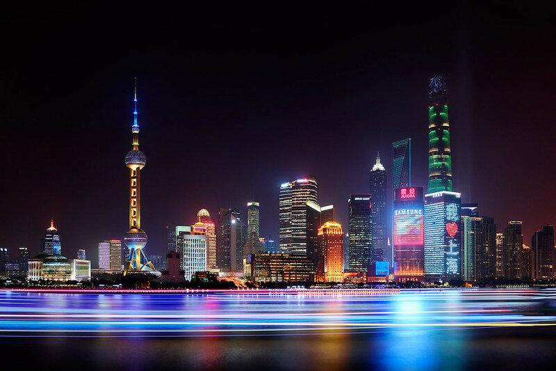 Шанхай, Китай.