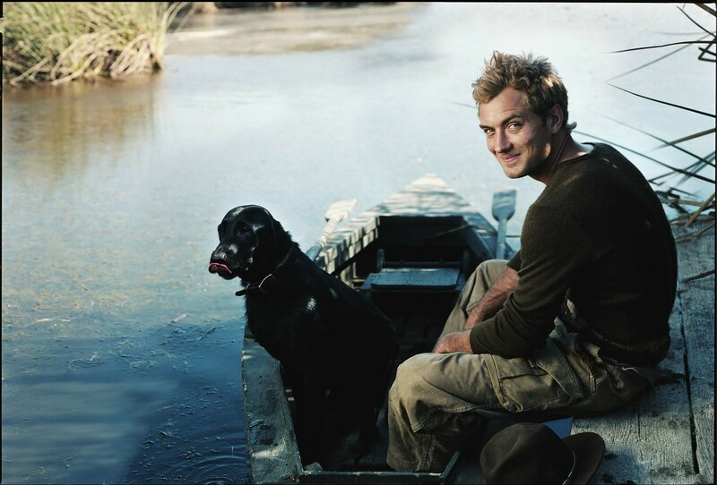 Jude Law, Actor. Photographed at Dune Lakes, in Arroyo Grande, California, July 15, 2004.  2004 © Annie LEIBOVITZ (CONTACT PRESS IMAGES)