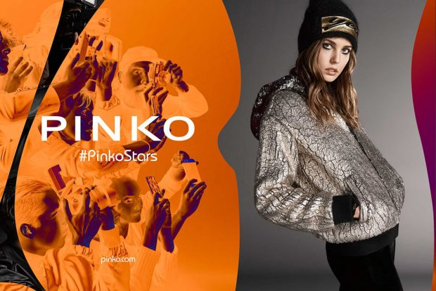 Nadja Bender for Pinko Fall Winter 2016.17 Campaign