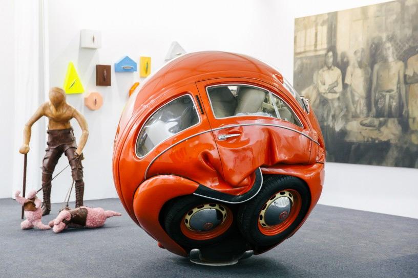 Ichwan Noor. Beetle Sphere , 2016. Redbase Art.