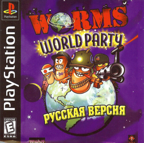Worms World Party [SLES-03804] [FULLRUS] [КУДОС] - PSX