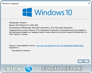 Windows 10 Pro x64 10.0.14393.206 ver 1607 Redstone (RS1) V2 [Ru]