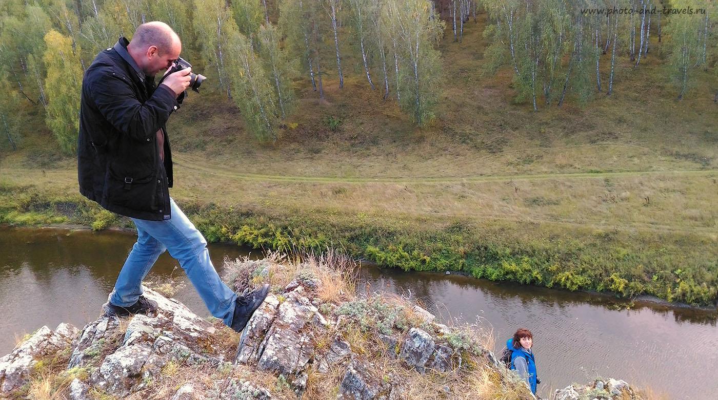 Изображение 22. Как снимался обзор рюкзака для фотоаппарата Case Logic TBC-411