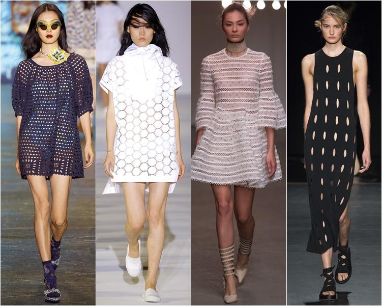 модный фасон платья 2016: платья прозрачные