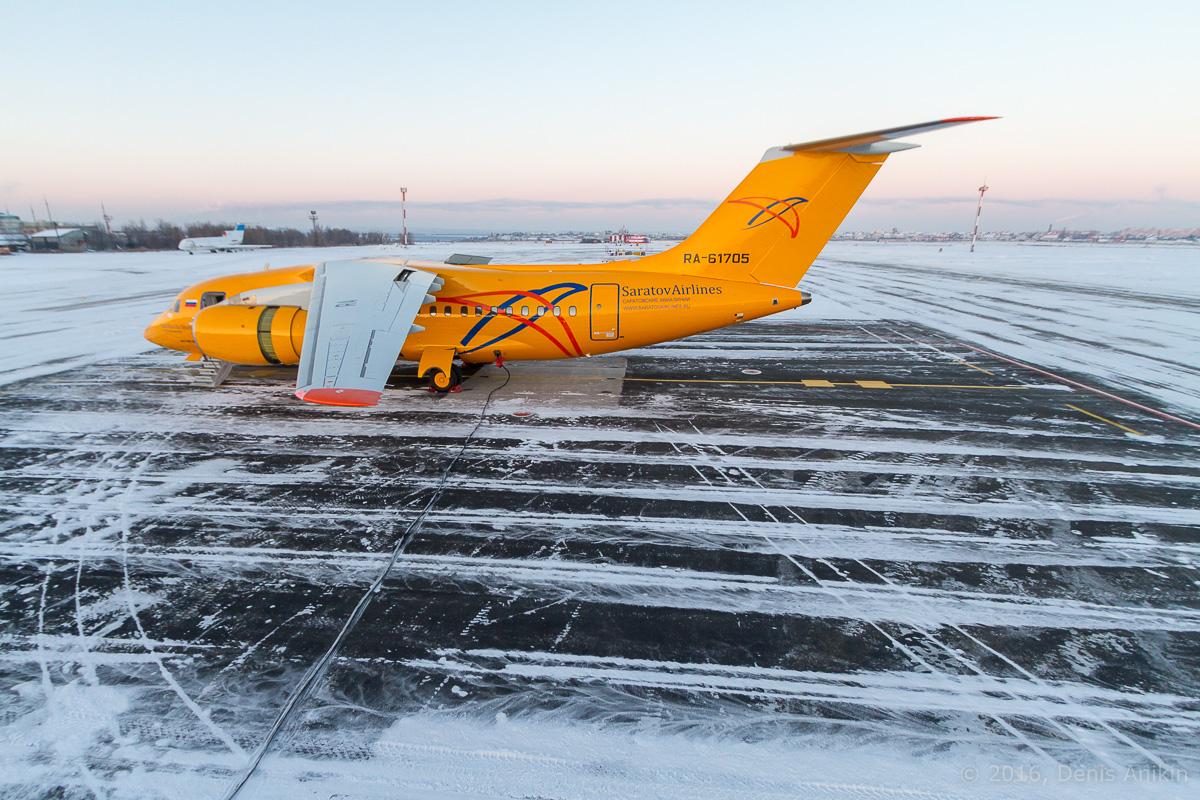 Ан-148 Саратовские авиалинии RA-61705 фото 11