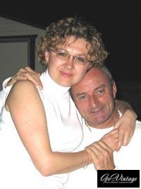 Ян Сейнт Гилар с женой Валентиной