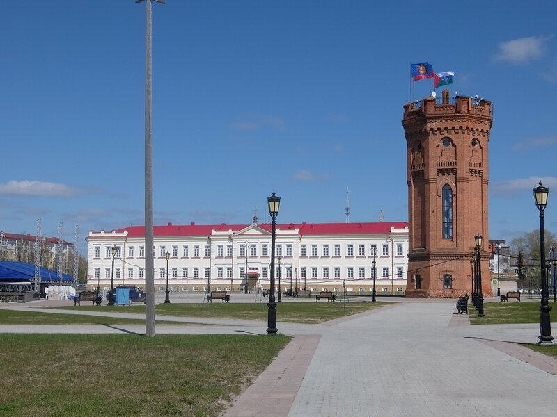 Тобольский Кремль - Водонапорная башня
