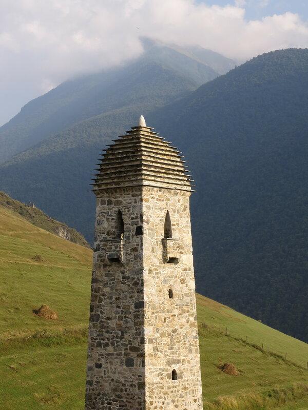 Верхний уровень одной из боевых башен в Эрзи