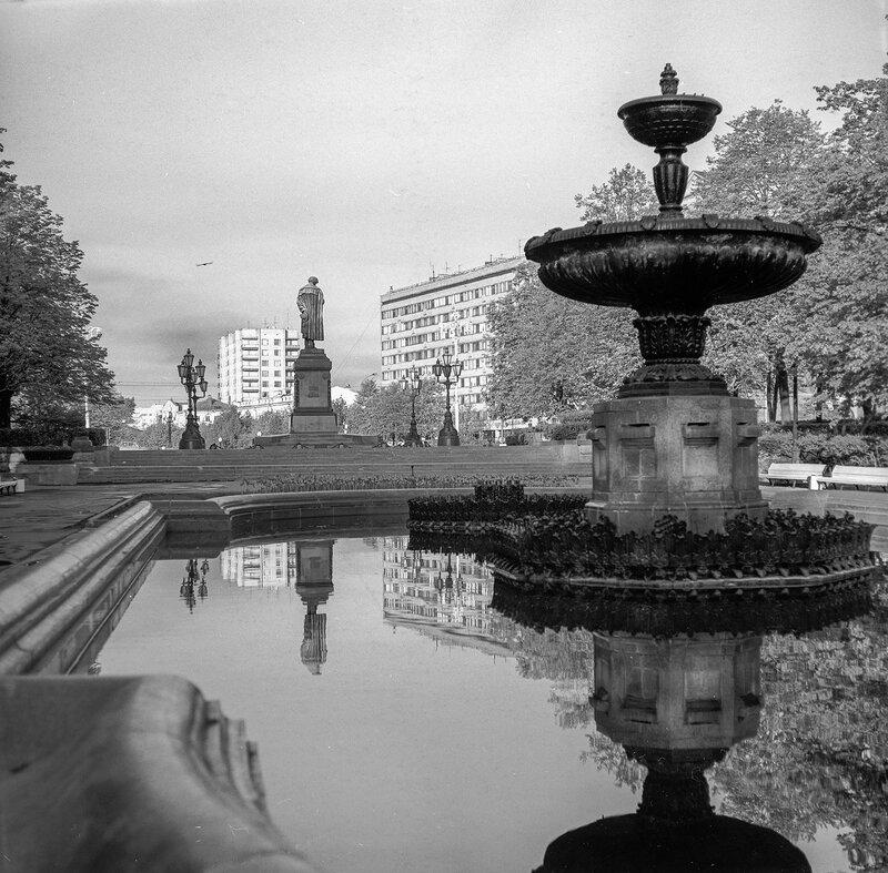 499817 Пушкинская площадь 1989 Uwe Kästner