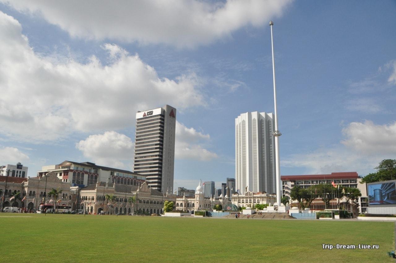 Площадь Независимости (Dataran Merdeka)