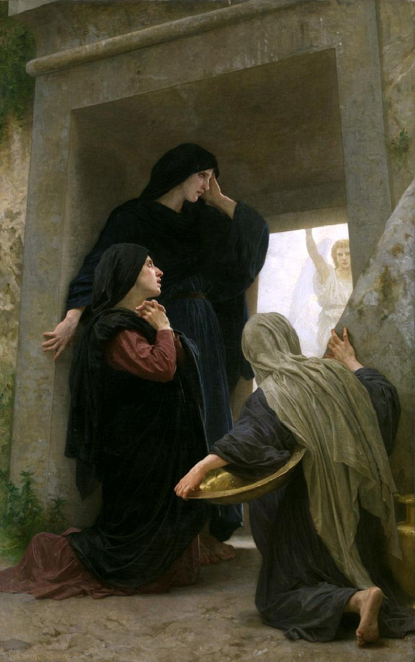 William-Adolphe Bouguereau (1825-1905) - Три Марии у Могилы.jpg