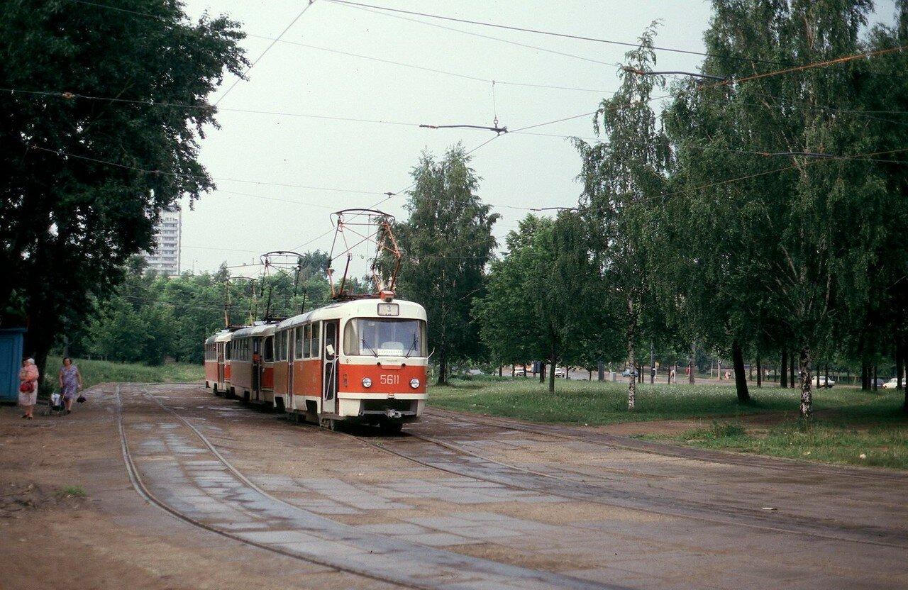 Балаклавский проспект. Конечная остановка трамвая