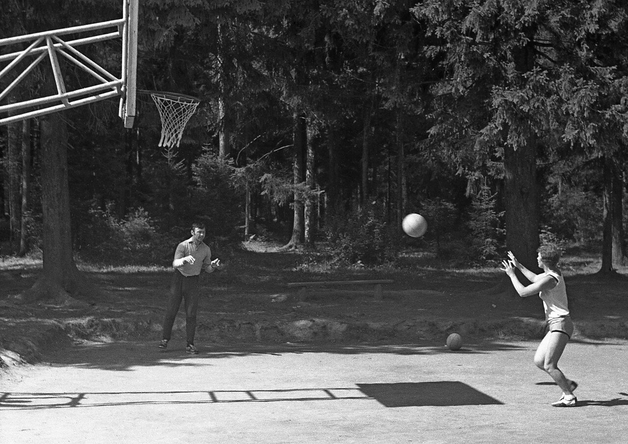12. Баскетбол - тренировка
