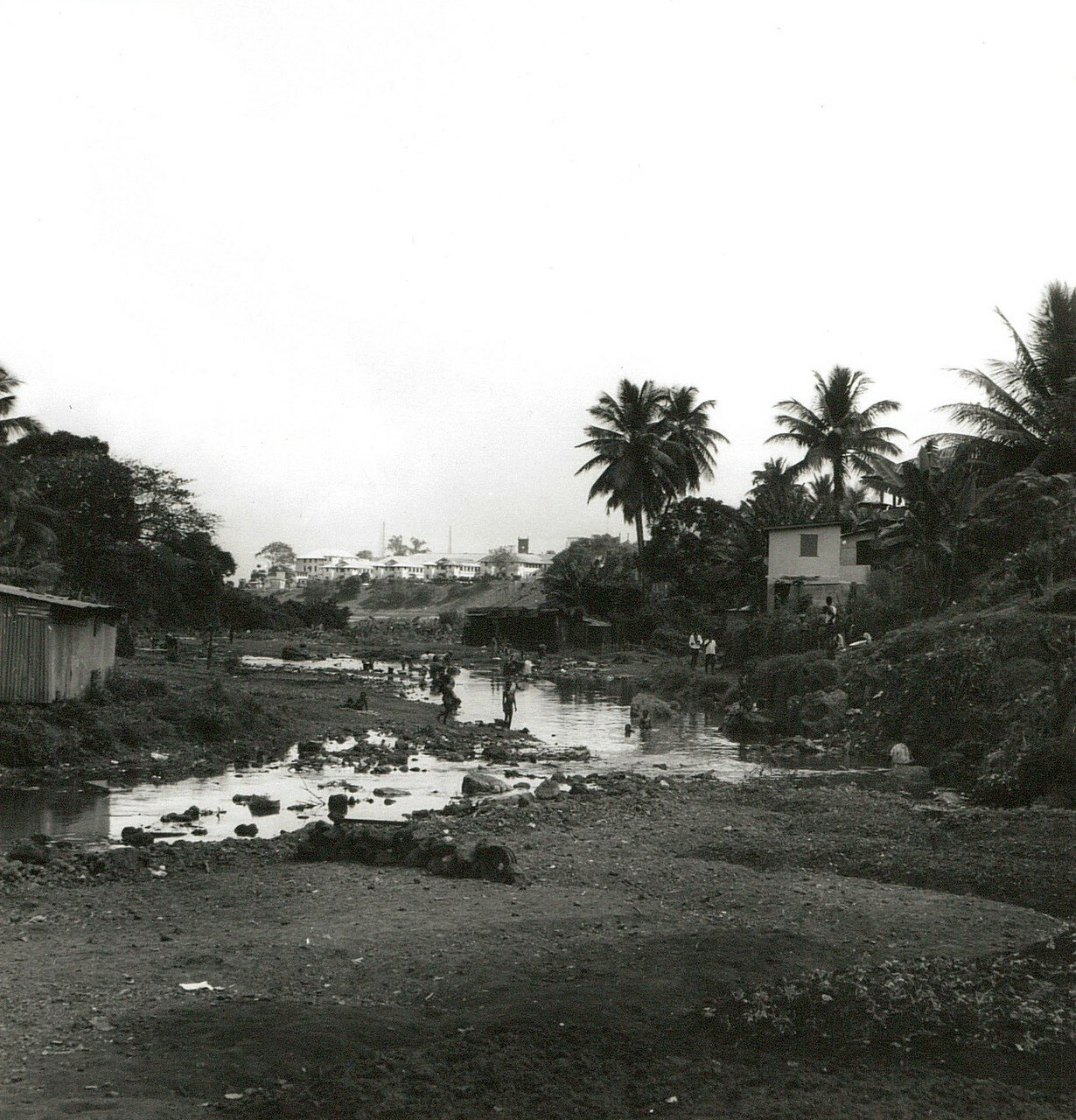Фритаун. Рыбацкая деревня на окраине города