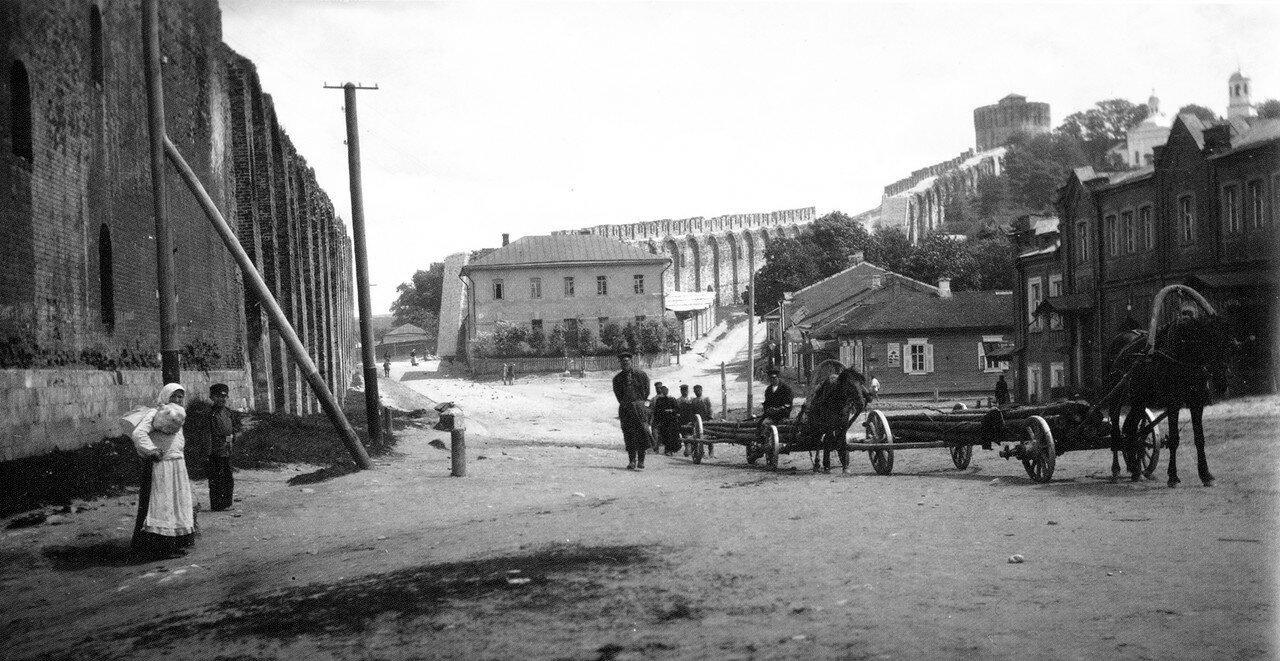 Армянская улица у Георгиевского ручья. 1907