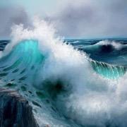 Море расбушевалось