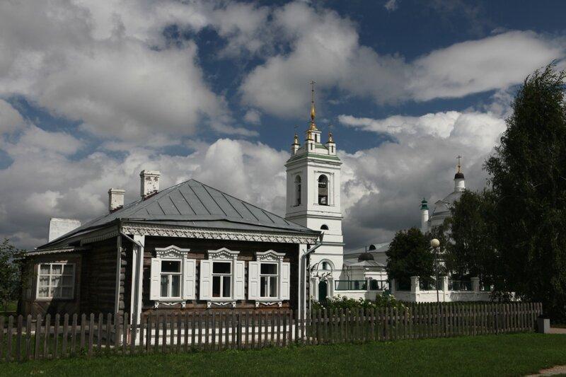 Усадьба Сергея Есенина в Константиново
