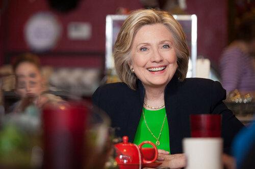 Хиллари Клинтон приняла участие в комедийном шоу