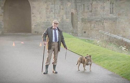 Энтони Хопкинс снялся в ролике «самой одинокой собакой»